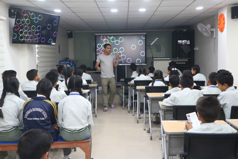 n amazing experience at Gyanodaya Public School | Ajay Pandey